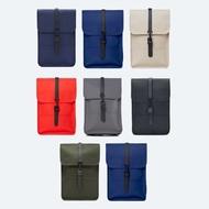 RAINS  唯一授權正品 BACKPACK MINI 8色 精品後背包 迷你款 防水材質 丹麥品牌
