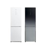 黑色有現貨【HITACHI 日立】 313L變頻雙門電冰箱 RBX330