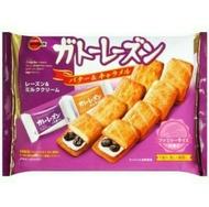 Bourbon 北日本 帆船巧克力餅乾 牛奶 焦糖葡萄派/1包