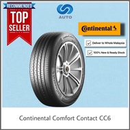 [Including Delivery] Continental Conti Comfort Contact CC6 Car Tyre 185/60R14, 185/55R15, 185/60R15, 195/55R15, 175/65R14, 195/65R15, 205/65R15, 185/65R15, 185/55R16, 215/60R16