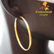 ต่างหูทองห่วงใหญ่ 90% น้ำหนัก 2.1-3.7 กรัม