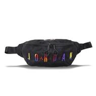#NIKE 8A0255K5T 腰包(喬登)黑/彩色JORDAN2*51*1cm(JORDAN RIVALS)