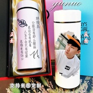 Jj Jay Jay Chou Stainless Steel Thermos Cup