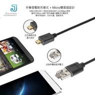 JCt Micro USB 超大電流專利設計手機對充二合一正反插