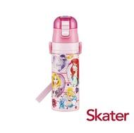 日本 Skater 不鏽鋼直飲式保溫水壺 470ml / 迪士尼公主PRINCESSD_好窩生活節