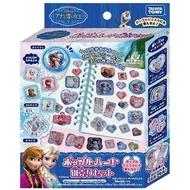 麗嬰兒童玩具館~TOMY-DISNEY迪士尼 冰雪奇緣心鑽立體貼紙機 貼紙補充包
