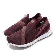 【NEW BALANCE】休閒鞋 WLNRSSR1D 寬楦 運動 女鞋 紐巴倫 套腳 懶人鞋 穿搭 舒適 球鞋 紅 白(WLNRSSR1D)