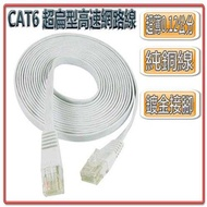 [富廉網] CT6-15 20M CAT6 超扁型高速網路線