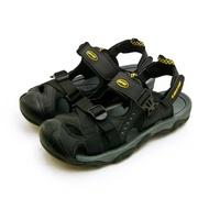 【LOTTO】男 專業護趾戶外運動涼鞋 水陸悍將系列(黑灰 0180)