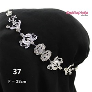 SANGGUL ORIENTAL BERLIAN HEADPIECE FLEXIBLE HIJAB UNIQUE CHEAP ETHICS WOMEN