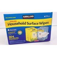 好市多 科克蘭  超取限一箱 家用清潔濕紙巾 一箱四包 檸檬 清新 香味 濕紙巾
