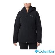 【Columbia 哥倫比亞】女款-Omni-Heat 防水保暖羽絨兩件式外套-黑色(UWR01790BK / 保暖.防水.休閒)