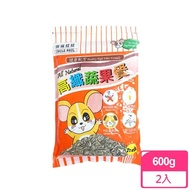 【MATCH】高纖蔬果餐 寵物葵瓜子 鼠飼料 600g 2入裝(適用寵物鼠/黃金鼠/老公公/三線/布丁/倉鼠/天竺鼠)
