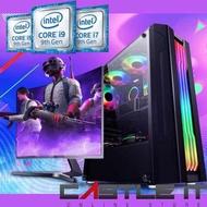 Intel Core i7 i5 i3 Dual Core 10th Gen Budget Gaming Desktop PC RX570 16GB DDR4 SSD 240GB i7-10700F i5-10400F i3-10100F