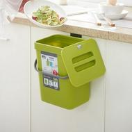 廚房壁掛垃圾桶_3L(有蓋垃圾桶 廚餘桶)