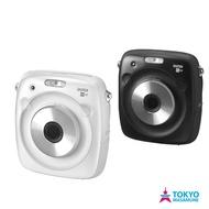 富士 Fujifilm instax SQUARE SQ10 數位 拍立得 相機 公司貨 黑色/白色 + 底片組合