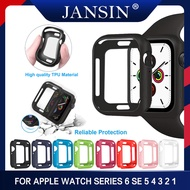 Watch Case For Apple Watch 5 4 40mm 44mm เคสซิลิโคนอ่อนนุ่ม For Apple Watch Series 3 2 1 42mm 38mm Accessories