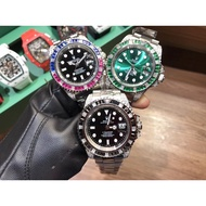 Rolex Rolex Water Ghosts Mechanical Watches Color Diamond Watches Men's Watches Fashion Watches Stee