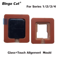 Precision Alignment ตำแหน่งแม่พิมพ์สำหรับ Apple Watch 42/38/40/44Mm Series 1 2 3 4 5แก้วที่ชำรุด Oca จอแสดงผลแบบสัมผัส Lcd ซ่อม