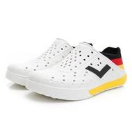 PONY 中性 洞洞鞋  ENJOY 02U1SA04-白色BK
