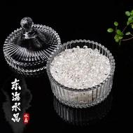 消磁碗   天然紫白粉黃水晶碎石手鍊消磁凈化消磁碗消磁石能量水晶柱能量塔【AA165】