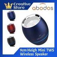 Abodos Ultra Mini TWS & Bass HIFI Loud Music Stereo Wireless Portable Speaker Supp TF SD Card Bluetooth Speakers