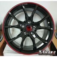 【萬有汽車輪胎鋁圈中心】全新類Type R 10代17吋鋁圈CRV K12 CIVIC 八代