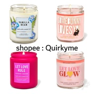 3 wick / 1 wick candle bath and body works