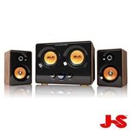 限賣家宅配【JS淇譽電子】震天雷 雙低音全木質多媒體喇叭(JY3241)
