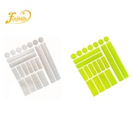 Reflective Stickers for Bicycle, Waterproof Reflective Decals, Night Safety Stickers for Helmet,Motorbike, Cars,White