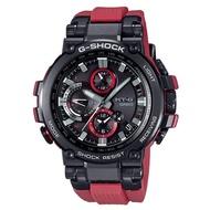 【CASIO 卡西歐】G-SHOCK太陽能電波手錶(黑紅 MTG-B1000B-1A4)