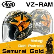 任我行騎士部品 ARAI VZ-RAM Samurai 黑金 武士 侍 3/4 半罩 安全帽 全新款 VZ RAM