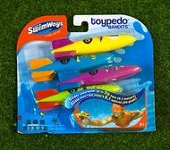 《★代購★美國SwimWays》熱賣NO.1潛水火箭Toypedo 學習游泳玩具 美國代購 平行輸入 溫媽媽