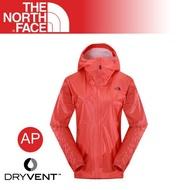 [現貨]The North Face 美國 女 FUSE 防水外套《明亮橘》/2SJZ/輕量/防風外套/透氣/登山