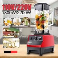 BPA 3HP 2L 220V/110V 1800W/2200W High Power Blender Commercial Grade Motor Food Processor Ice Smooth