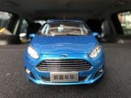 🙋🏻♂️BuyCar模型車庫 1:18 Ford Fiesta 模型車