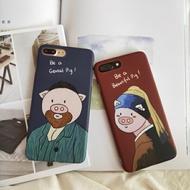 原創華為nova2s手機殼情侶3i卡通p20pro豬豬保護套e全包mate20pro