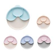 【品牌任兩件贈收納袋1入(吸管除外)】美國 Miniware 天然聚乳酸兒童學習餐具 聰明分隔餐盤組(附吸盤)(6款可選)
