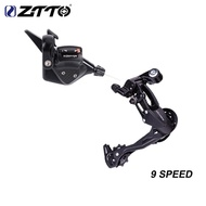 Ztto Mtb Bicycle 1x9 System 9 Speed Shifter Rear Derailleur Groupset 9s 42t 40t 50t 9v K7 For Xt X7 Mountain Bike Crankset Parts