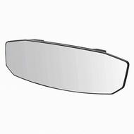 權世界@汽車用品 日本CARMATE 黑框八角形加高加寬超廣角曲面車內後視鏡(高反射鏡) 270mm M46
