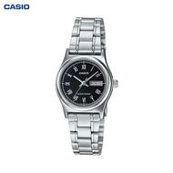 CASIO STANDARD นาฬิกาผู้หญิง สายสแตนเลส รุ่น LTP-V006D-1B