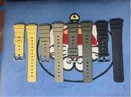 卡西歐G-SHOCK DW-5600/GWM5610膠帶樹脂錶帶ga2100錶帶改裝配件