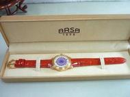立堡珠寶精品交流~【ARSA】炫彩美學機械腕錶(紅 28mm) ARSA 降價出清