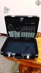 『青山六金』公事包 工具箱 工具包 工作盒 盒子 鋁合金 板手 套筒 鉗子 槍箱 釣蝦 蝦竿 組合包 鐵鎚 台灣 日本