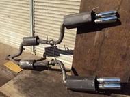 正 BRABUS 排氣管 中段 尾段 尾桶 W220 S320 S350 S430 S500 S600 W215 CL500 CL600(AMG LORINSER)W211 W212 W210 W219 CLS SL