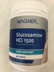 Wagner Glucosamine HCL 1500 (400 Tablets)