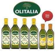 【Olitalia 奧利塔】純橄欖油1000mlx4瓶禮盒組(贈頂級芥花油500mlx2瓶)
