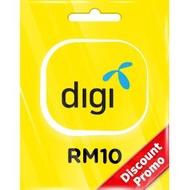 DIGI PREPAID RM10 VOUCHER (MY) DISCOUNT PROMO - DIGI RELOAD PIN RM10 -  Wholesale Digi Pin RM10