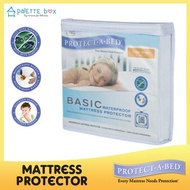 Protect-a-bed Basic Fluidproof / Waterproof Mattress Protector - Distributed by King Koil