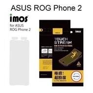 【iMos】霧面電競螢幕保護貼 ASUS ROG Phone 2 ZS660KL (6.59 吋) 電競專用 極滑 抗污 防反光